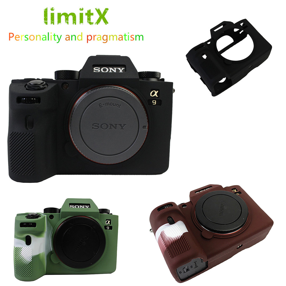 Digital Gear Bags Fast Deliver Limitx Silicone Armor Skin Case Body Cover Protector For Sony Alpha A9 Ilce-9 Full Frame Mirrorless Camera Accessories & Parts