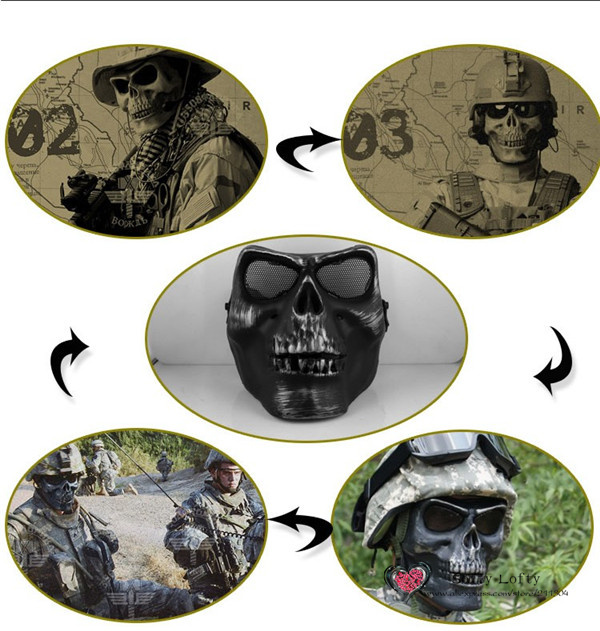 CS Soldiers Mask Protection 3 colors - 2