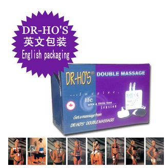 Free shipping DR HO S Dual Double Muscle Massage Therapy System Dr Ho s Pain Relieve