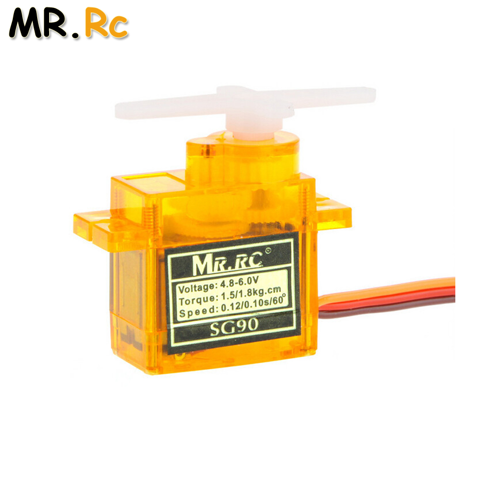 1pcs Rc Mini Micro 9g 1.6KG Servo SG90 For RC 250 450 6CH For Helicopter Airplane Aeroplane Car Boat