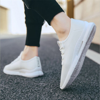 2019 Male Breathable Comfortable Casual Shoes Fashion Men Canvas Shoes Lace up Wear-resistant Men Sneakers zapatillas deportiva 1