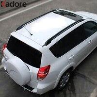 For Toyota RAV4 RAV 4 2006 2007 2008 2009 2010 Aluminium Alloy Black Roof Rack With Screws Roof Luggage Carriers Baggage Holder