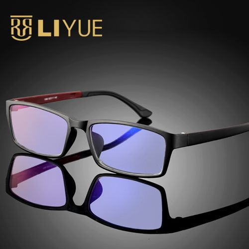 d34a904dabfb Computer Goggles women Anti blue ray Glasses men anti radiation Optical  eyewear frame 100% UV400 Spectables frame 1308-in Eyewear Frames from  Apparel ...
