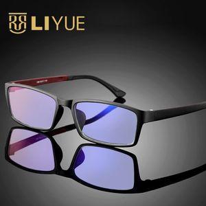 Image 2 - Computer Goggles women Anti blue ray Glasses men anti radiation Optical eyewear frame 100% UV400 Spectables frame 1308