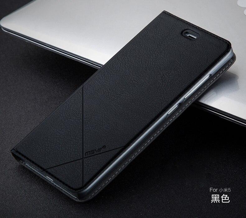 super popular 7e22d 52489 Xiaomi Mi5 Case High Quality Genuine Msvii Smart Flip Case Xiaomi ...