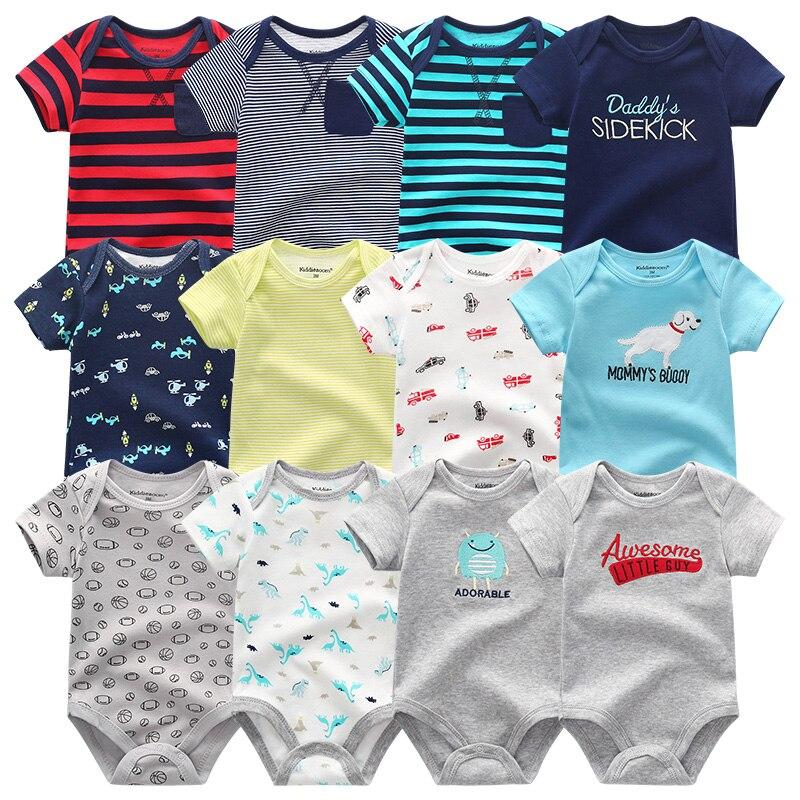2018 Hot Sale Infant Toddler Clothes Newborn Baby Boys Rompers Clothing  Summer 0-12M Short Sheeve Baby Girls Sets Roupas de bebe 9b1c9771018c