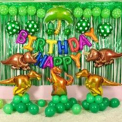 1 pcs Giant Dinosaur foil balloon boys animal balloons childrens dinosaur birthday party jurassic world decorations balloon
