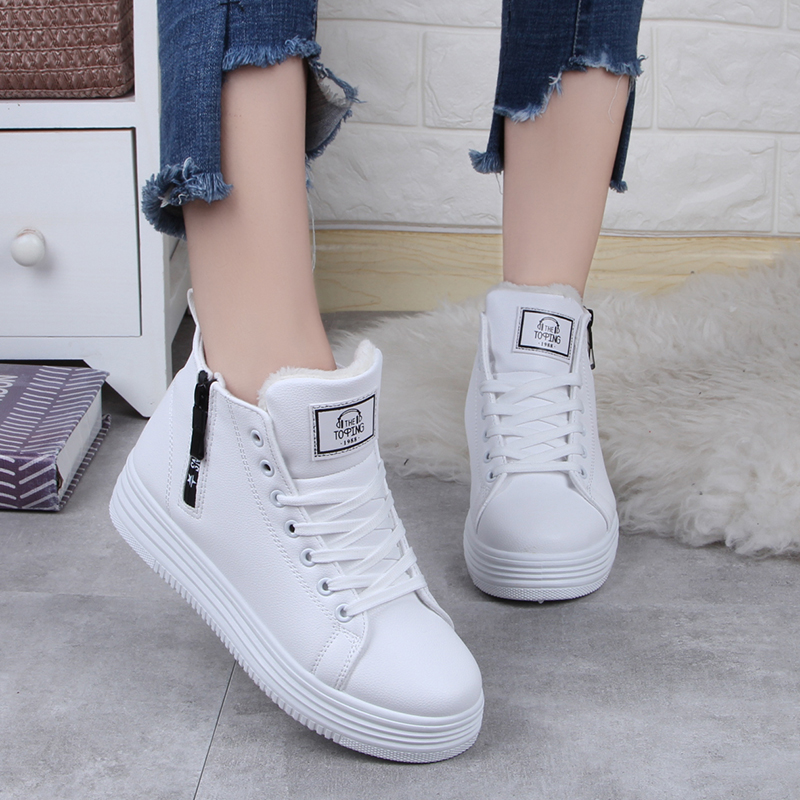 Chaussures High Dames white Mode Top Black Casual 902 Feminino Tenis 902 Femmes Hiver D'hiver Sneakers pink 902 2018 Chaud zUpSMV