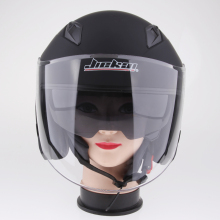 1 Piece  ABS plastic Motorcycle 3/4 Open Face Helmet with Full Shield Visor Sun