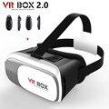 VR BOX ii 2.0 Google Картон Виртуальная Реальность 3D Очки Для 3.5-6.0 дюймов смартфон + Bluetooth Контроллер
