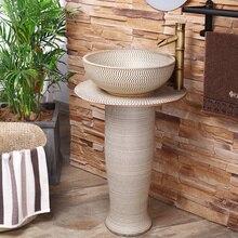 Ручной раковина с тумбой из раковины балкон корпоративной туалетной составной Этаж умывальник коврик для ванной умывальник, раковина