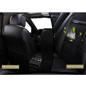 Image 4 - New Luxury leather Universal car seat cover for suzuki sx4 Swift Grand Vitara Jimini KIZASHI Alivio dodge caliber Avenger polo