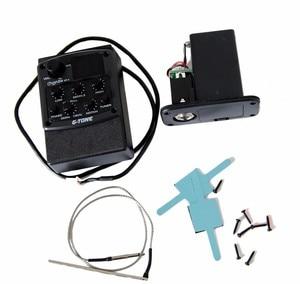 Image 3 - Cherub GT 4 3 полосный эквалайзер с хроматическим тюнером управления средней частотой