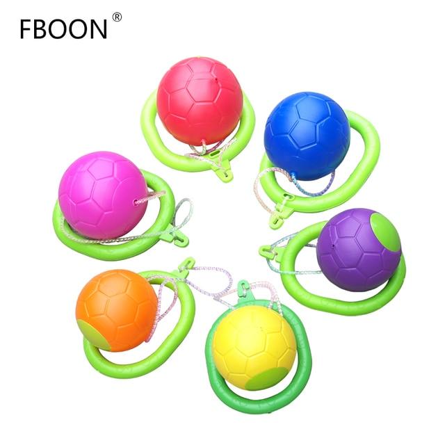 Fboon Skipping Rope Children Jumping Ball Swivel Foot Ball Toy Outdoor Garden Fitness Adjustable Equipment Length Jump Ring