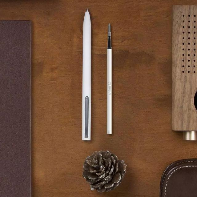 Original Xiaomi Mijia Sign Pen 9.5mm Signing Pen PREMEC Smooth Switzerland Refill MiKuni Japan Ink add Mijia Pen Black Refill