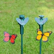 Peradix 진동 태양 에너지 춤 비행 나비 Hummingbird 정원 장식 어린이위한 태양 광 장난감