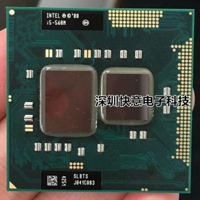 Lntel Dual Core i5 560 M i5-560M 2.66 GHz Máy Tính Xách Tay bộ vi xử lý Máy Tính Xách Tay CPU PGA 988 i5-560M Bộ Vi Xử Lý hoạt động trên HM55 HM57