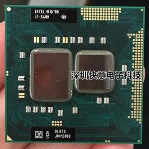 Image 1 - Lntel Dual Core i5 560M i5 560 M 2,66 GHz Notebook prozessoren Laptop CPU PGA 988 i5 560M Prozessor funktioniert auf HM55 HM57