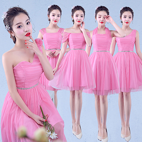 Sweet Memory Short Bridesmaid Dress Sister Group Style Wedding Party Prom  Dresses SW180801 Clearance and Promotion d000cdba92d3