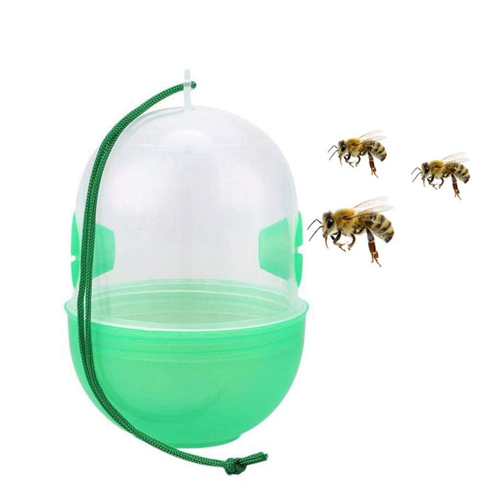 Image 3 - HOT Sale product 4Pcs Wasp Fly Flies Insects Hanging Trap Catcher Killer Outdoor Fly Catcher convenient and  practical-in Traps from Home & Garden