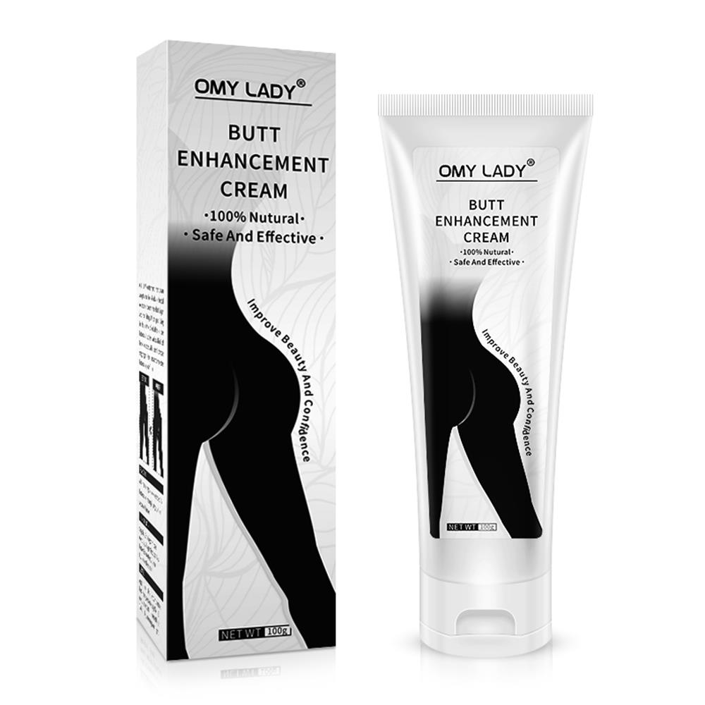 1PC Butt Enlargement Cream Sexy Hip Buttock Enlargement Hip Enhancer Ass Lift Up Plant Extract Effective Massage Cream 100g(China)
