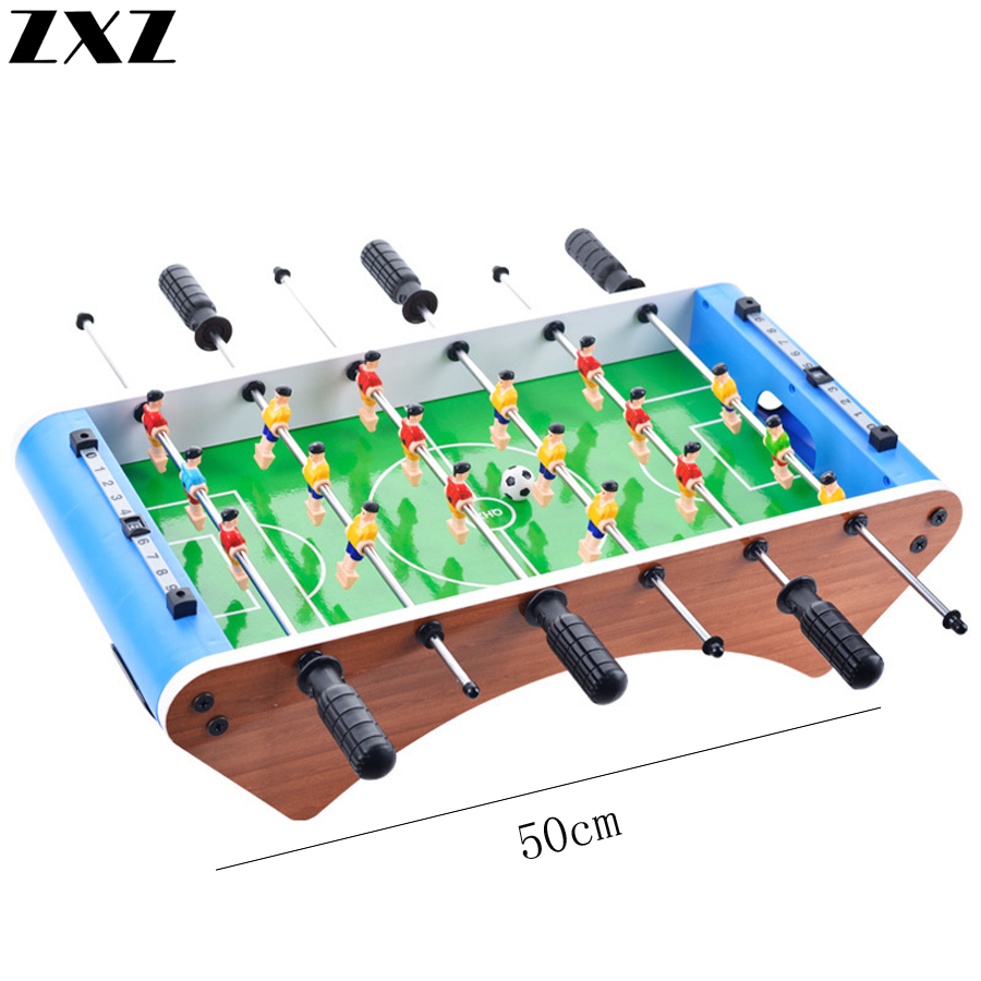 50cm Table Soccer Football Board Game Table Foosball Set Foot Ball Games Bar Entertainment Kids Home Tischfussball Toy Gifts image