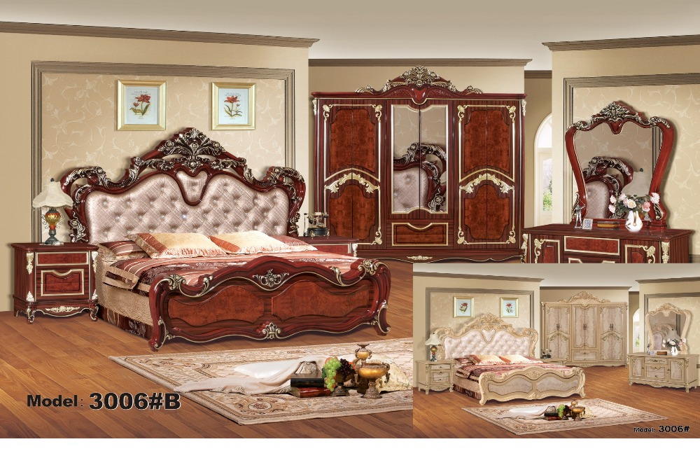luxury bedroom furniture sets bedroom furniture china deluxe six piece suit in bedroom sets from furniture on aliexpresscom alibaba group - Luxury Bedroom Furniture