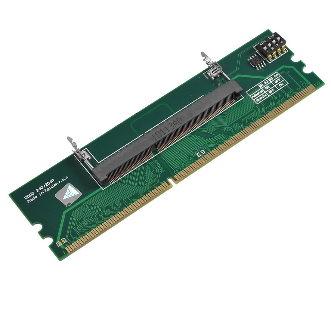 <font><b>DDR3</b></font> Laptop zu Desktop-Speicher <font><b>RAM</b></font> <font><b>Adapter</b></font> Stecker Konverter image