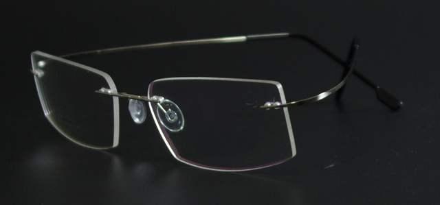 c16c314e26 placeholder Fashion Super Flex and Light Memory Titanium Rimless Eyeglasses  Frames For Myopia Lenses Reading Glasses