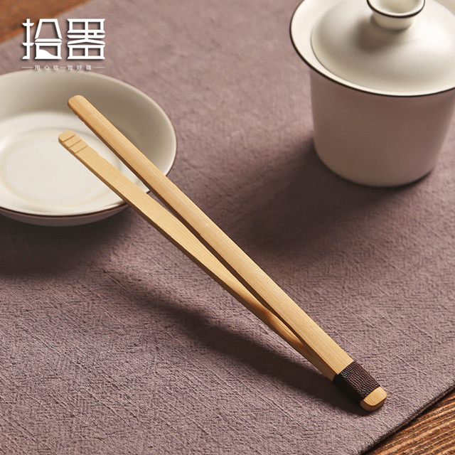 Chinese Tea Spoons Suit Natural Bamboe Teaspoon Matcha Tea Coffee Measuring Scoop Kitchen Tool Kongfu Tea Set Accessories Tools