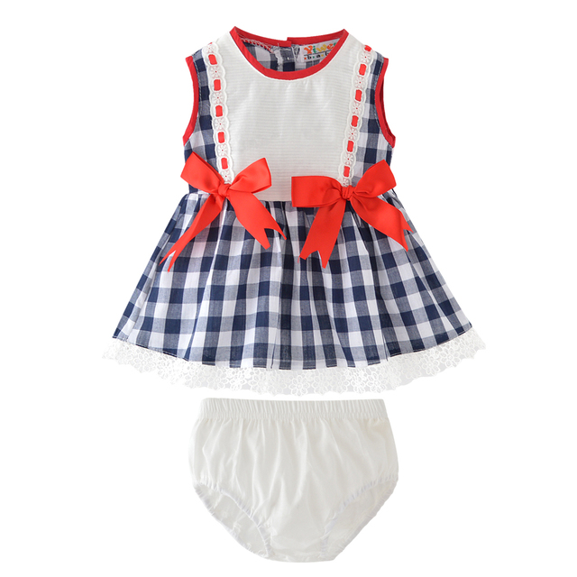 f5918d6ea4687 Baby Girls Clothing Set 2018 New Summer Style Kids Clothing Lovely Dress  Lace Tops Short Pants 2Pcs Baby Children Clothes-in Dresses from Mother &  ...