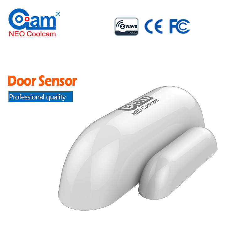 NEO COOLCAM Wireless Z-wave Smart Sensor Door/Window Sensor Compatible System With Z wave Home Automation System 868.4 MHz EU neo coolcam nas pd02z new z wave pir motion sensor detector home automation alarm system motion alarm system eu us version