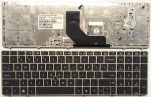 Image 1 - US Gray New English laptop keyboard FOR HP EliteBook 8560p 8570P 8560B 6560b 6565b