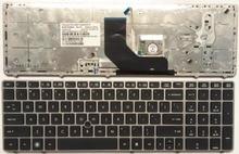 US Grigio New English tastiera del computer portatile PER HP EliteBook 8560 p 8570 P 8560B 6560b 6565b