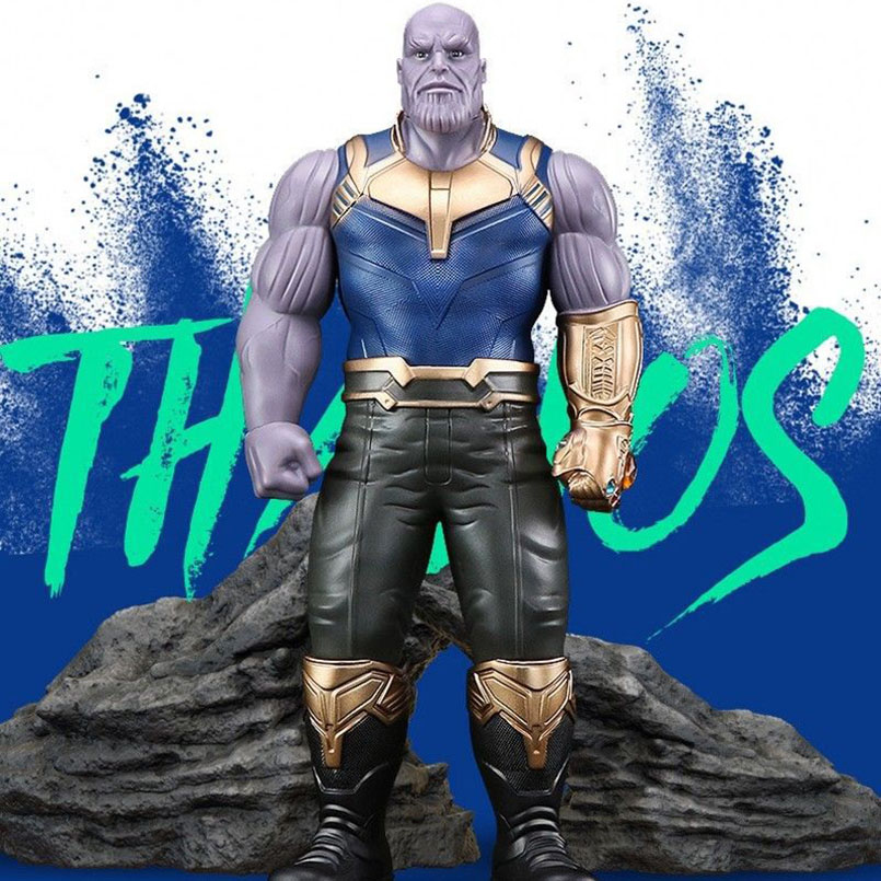 33cm The Avengers 3 INFINITY WAR Thanos PVC Action Figures TITAN HERO SERIES Figure Original Collectible Model Toy Kids Gift