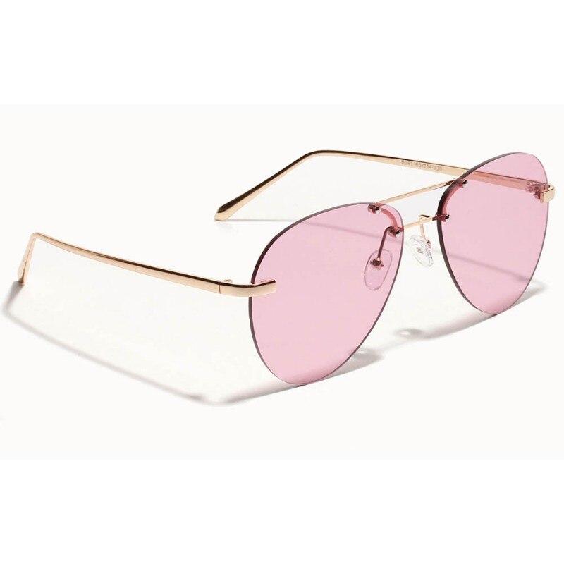 Aviator Men Sunglasses Classic Brand Designer Unisex Sun Glasses For Women Alloy Legs Glasses Oculos Feminino Eyeglasses 2018