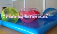 Inflatable Walk on Water Walking Ball PVC 2M Tizip Zipper