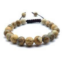 Браслет ручной работы с камнями Регулируемый Женский браслет