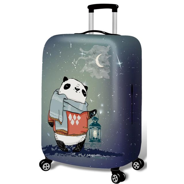 Thickened Luggages Protective Cover Trolley Cases Waterproof Elastic