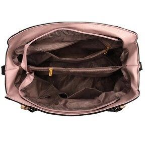 Image 5 - Frauen Messenger 2020 Neue Flut Weibliche Top griff Tasche Mädchen Einfache Schulter Taschen Frauen Handtaschen für Dame Totes Mode party Pack