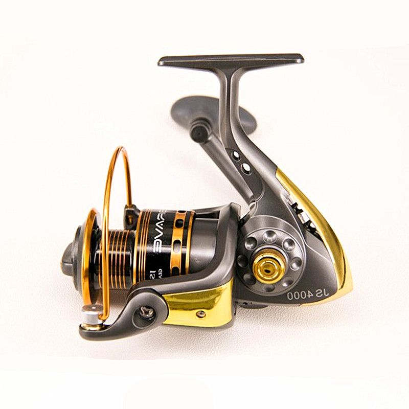 KKWEZVA Deep cup 2000-5000 seires 10 BB metal front drag spinning fishing reel Fishing Spinning Reel Pesca