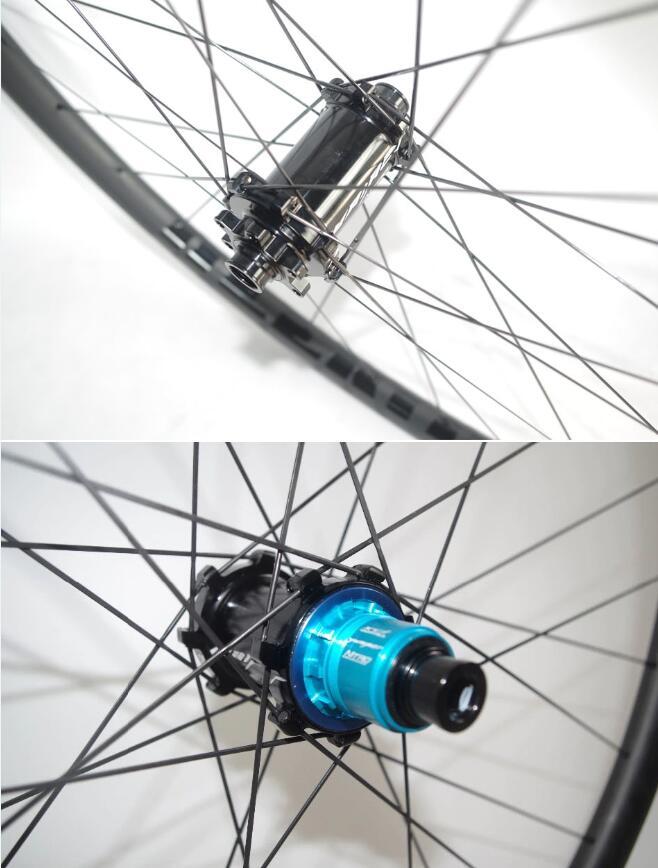 High end Yuniper BOOST MTB Straight Pull Bike Hubs Black 15 110MM 12 148MM