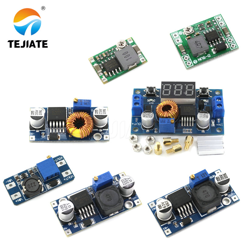 DC-DC Voltage Stabilized Power Supply Module Adjustable Boost& Buck Voltage Regulator Module LM2596S-ADJ MT3608 MP1584EN