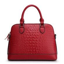 Crocodile Skin Ladies Handbag