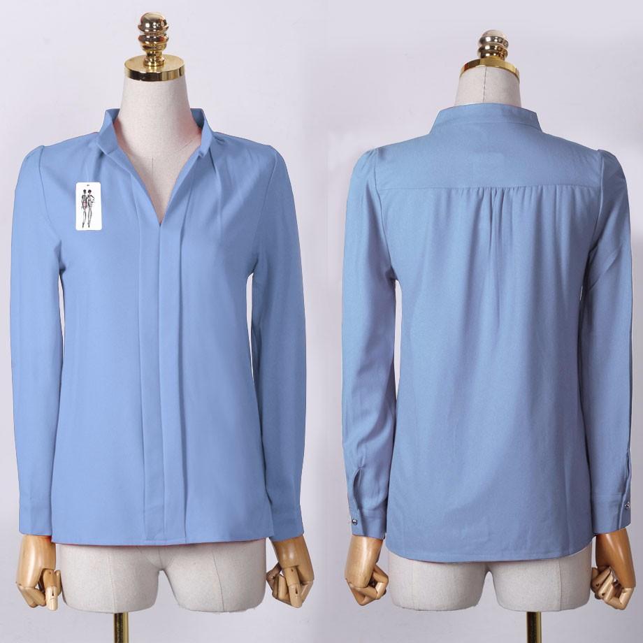 HTB1cX2BOXXXXXbcXFXXq6xXFXXXz - Long Sleeve Elegant Ladies Office Shirts Fashion Casual Slim Women