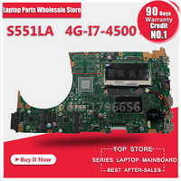 S551LB REV2.0 with i7 4500 cpu motherboard For ASUS S551 S551L S551LN S551LA R553L K551L mainboard motherboard non integrated