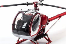Schweizer 300C Hughes Metal and High Simulation RC RTF helicopter for training and agriculture