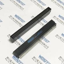 10 Uds. S 86M 2.54 5 86P S 98M 2.54 5 98P S 100M 2.54 5 100P S 128M 2.54 5 128P Goldfinger slot EDGE CONNECTOR SLOT