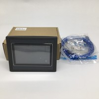 4.3'' HMI+PLC All in one Integrated Controller 4.3Inch Touch Panel DC24V Transistor Output I/O 12DI 12DO RS232 RS485 FX2N
