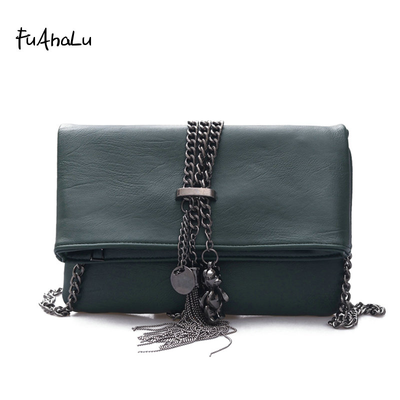 Analytisch Fuahalu Neue Quaste Kette Paket Mini-schulter Schiefes Kreuz Hand Tasche